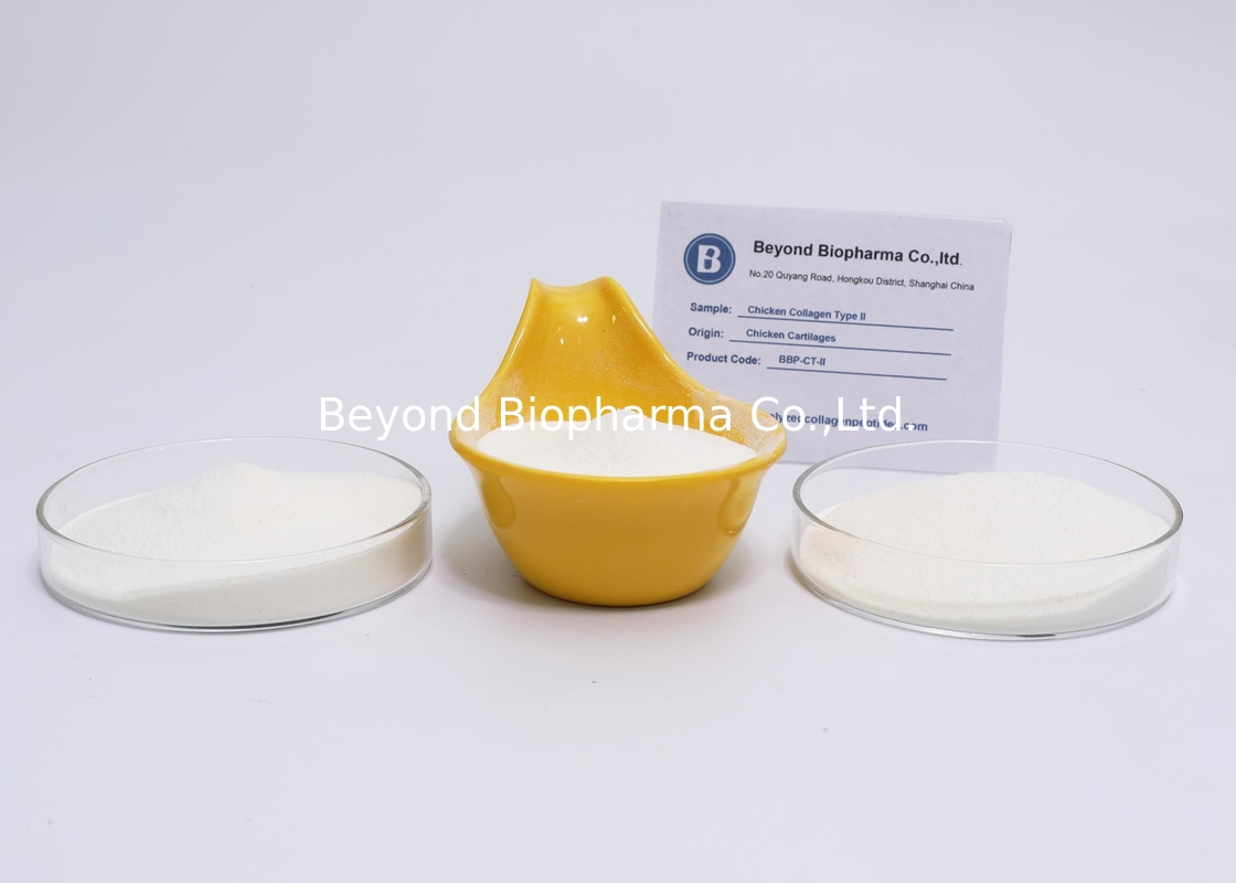 Water Soluble Natural Type ii Chicken Collagen From Chicken Cartilage Or Sternum