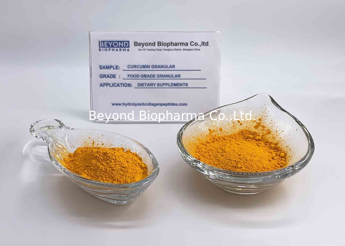 Organic Turmeric Curcumin Powder With Antiviral , Antimicrobial Function