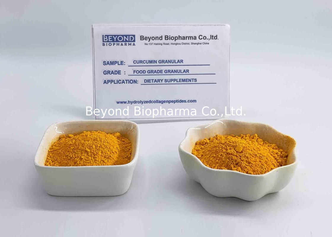 Anti - Oxidant Curcumin Powder For Dogs Orange Yellow Appearance