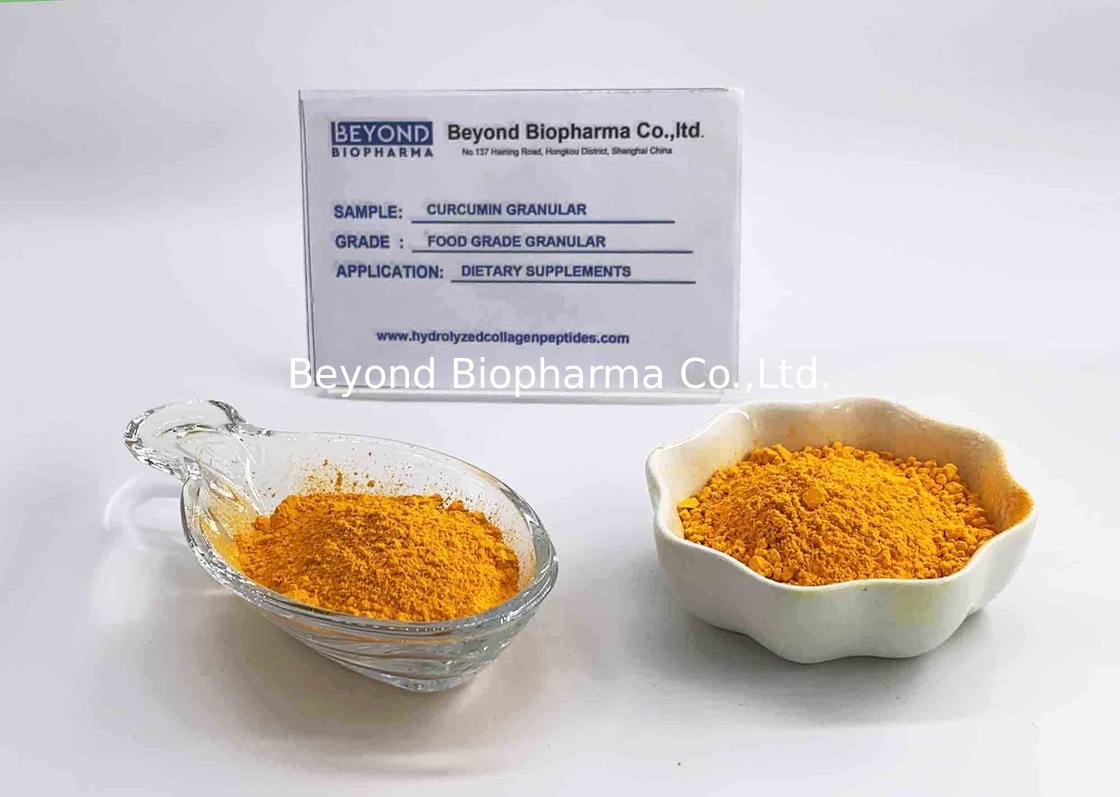 Custom Made Turmeric Root Powder / Organic Curcumin Powder Lipid Lowering