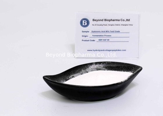 Cosmetic Grade Hyaluronic Acid Powder With 90% Purity From Fermentation Origin