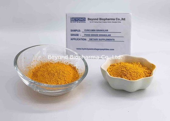 China Raw Material Organic Curcumin Extract Powder , Turmeric Powder For Back Pain factory