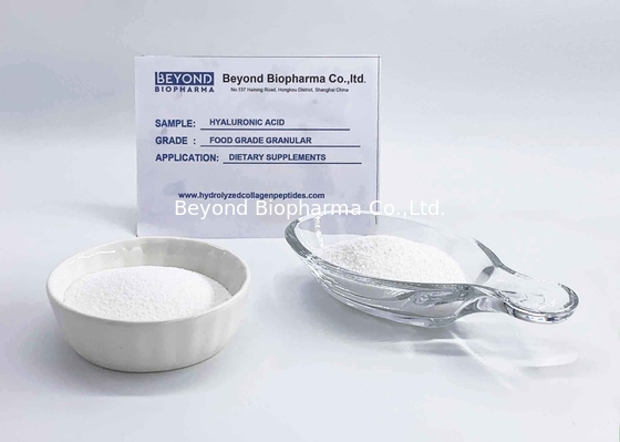China Injectable Grade Hyaluronic Acid Powder CAS 9067-32-7 EU GMP Standard factory